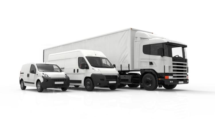 camion de l'entreprise de transport de marchandise