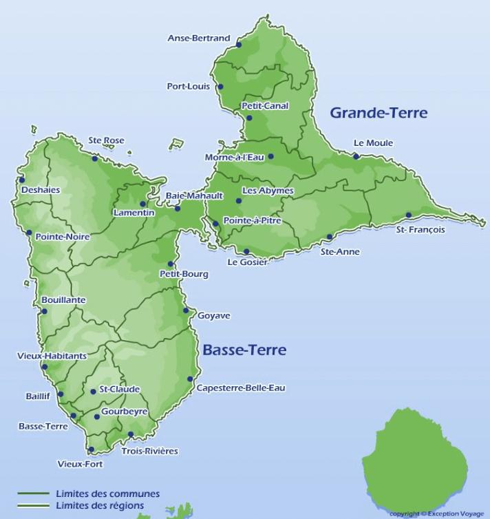 Département de la Guadeloupe